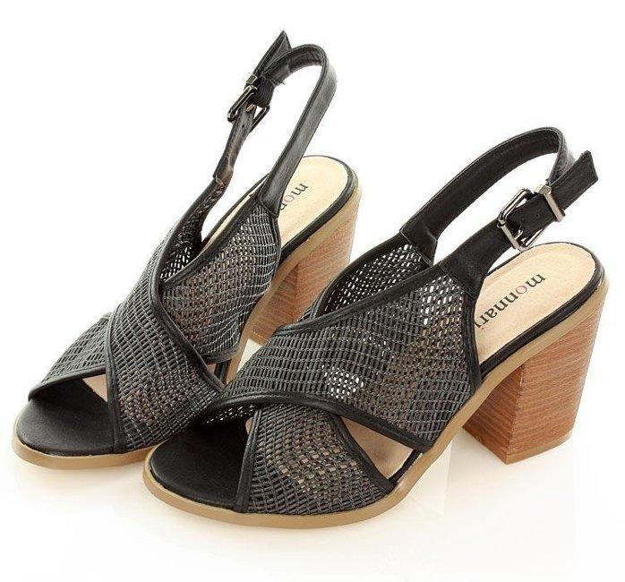 sandały z siateczką MONNARI