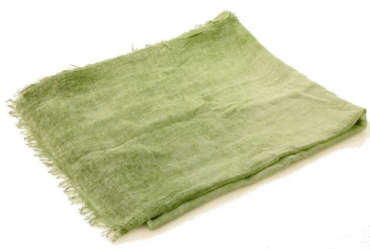 szal zielony